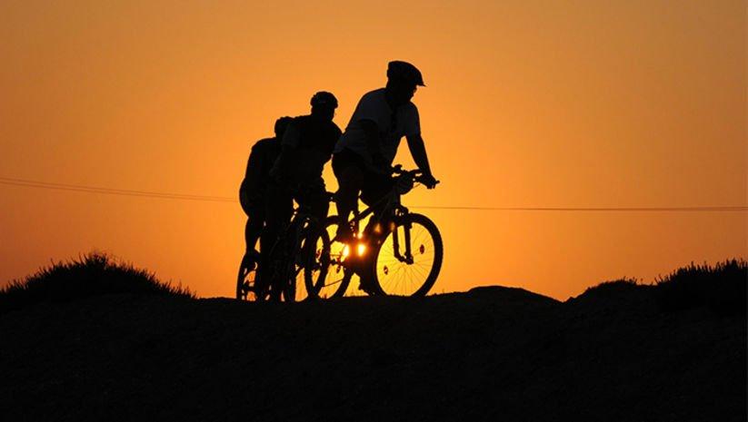 Hedef, 4 yolculuktan 1'i bisikletli