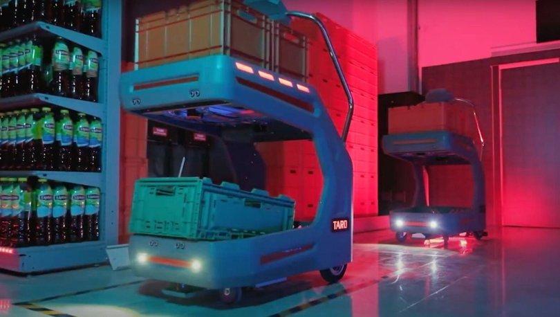 Migros, robot TARO ile siparişleri 5 kat hızlı hazırlayacak