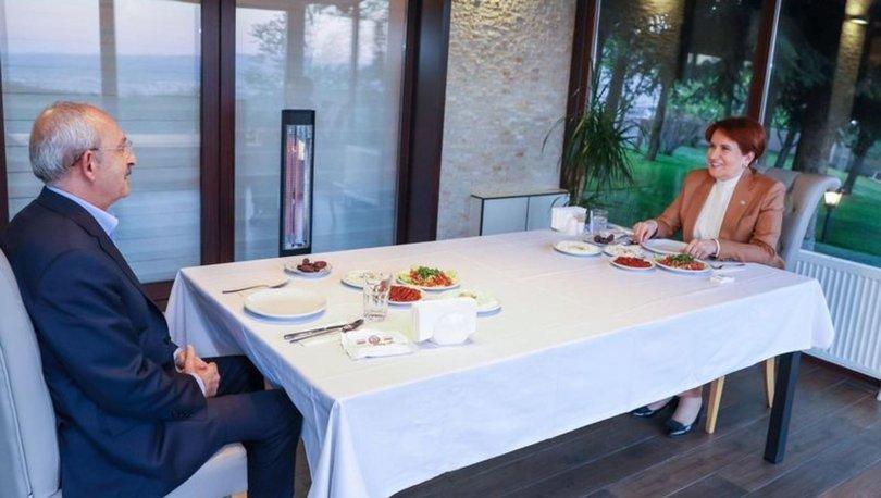 Akşener ile Kılıçdaroğlu iftarda bir araya geldi
