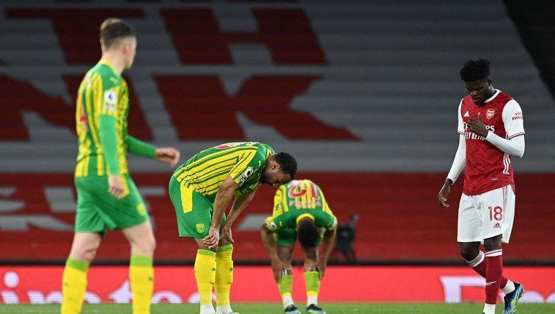 Arsenal: 3 - West Bromwich: 1 MAÇ SONUCU