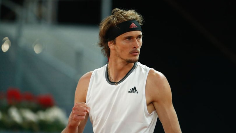 Madrid Açık Tenis Turnuvası'nda tek erkeklerde şampiyon Zverev
