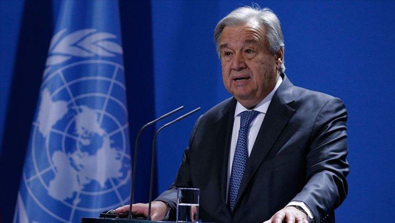 Guterres'ten İsrail'e çağrı: