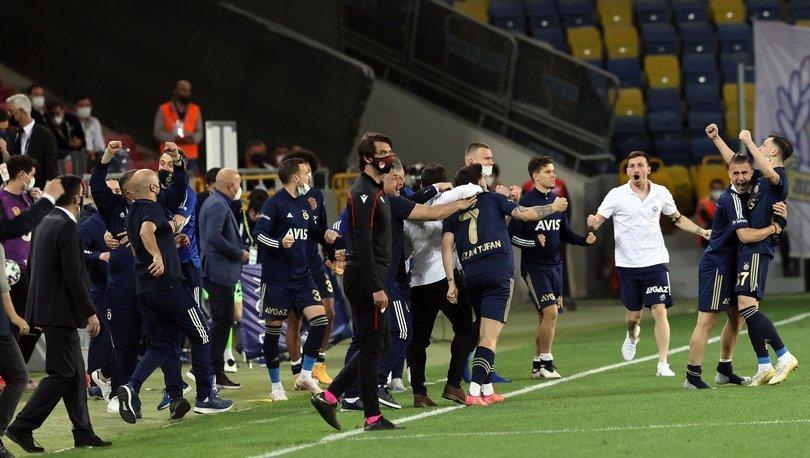 Fenerbahçe şampiyonluk yarışına bu puanlarla tutundu!