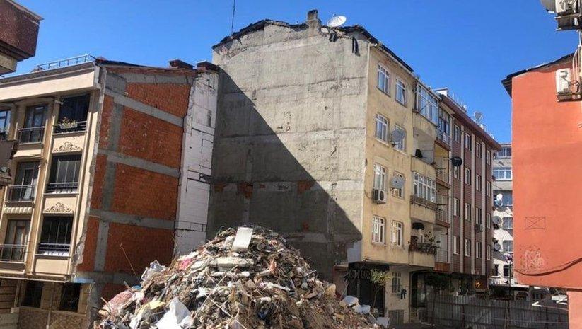 Zeytinburnu'nda riskli bina yıkılacak