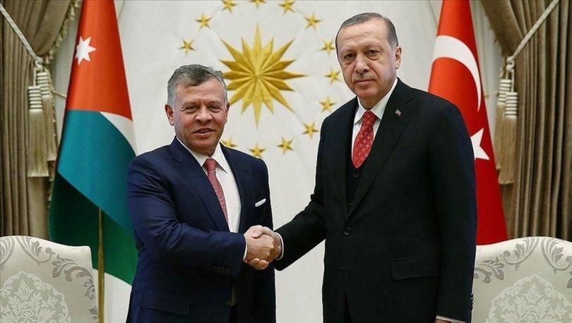 SON DAKİKA! Cumhurbaşkanı Erdoğan, Ürdün Kralı'yla İsrail'in Mescid-i Aksa'ya saldırısını konuştu
