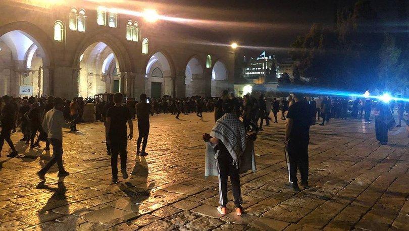 İsrail polisinin müdahalesinde AA muhabiri plastik mermiyle vuruldu