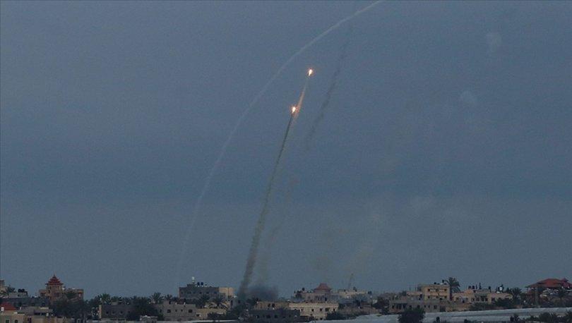 Gazze'den Batı Kudüs'e 6 roket fırlatıldı, İsrail'den misilleme: 21 Filistinli can verdi!