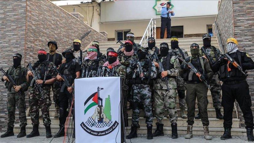 Gazze'deki direniş grupları İsrail'e karşı Kudüs'ün Kılıcı operasyonunu başlattı