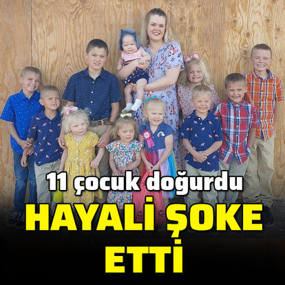 11 çocuk doğurdu, hayali şoke etti