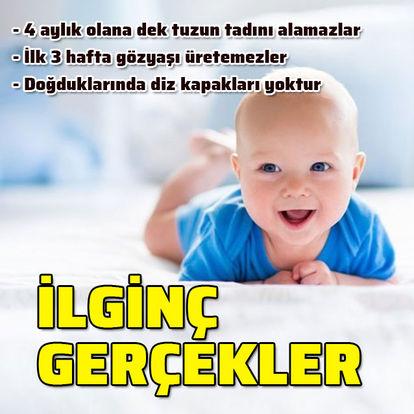 Bebekler hakkında hiç bilmediğiniz ilginç gerçekler
