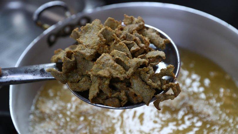 Edirne'nin tescilli lezzeti tava ciğer iftar sofralarına lezzet katıyor