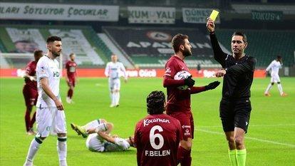 TFF 1. Lig'de kart sayısı azaldı