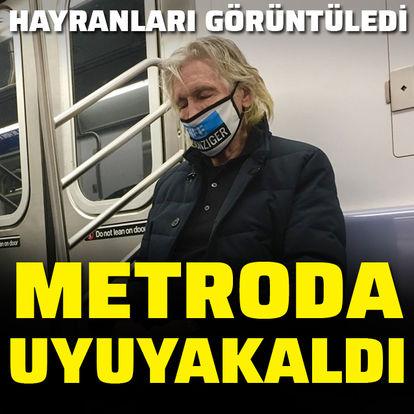 Metroda uyuyakaldı!