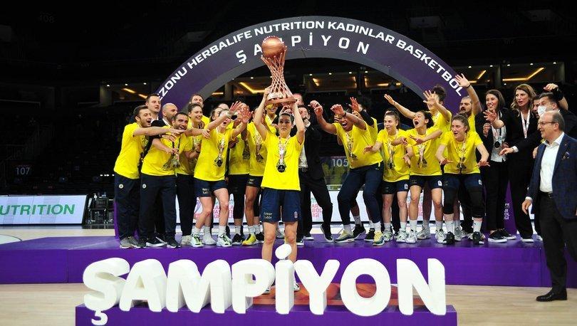 Son dakika haberi   Potada şampiyon Fenerbahçe Öznur Kablo