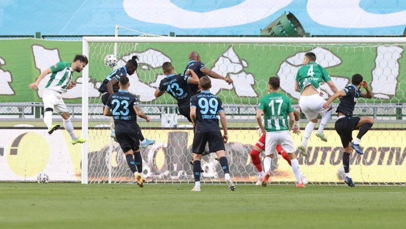 Konyaspor: 1 - Trabzonspor: 1   MAÇ SONUCU