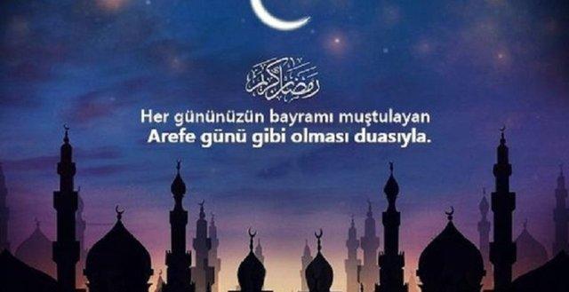 2021 Arefe günü mesajları: En güzel ve en anlamlı, resimli Arefe günü mesajları ve sözleriyle Ramazan ayına veda