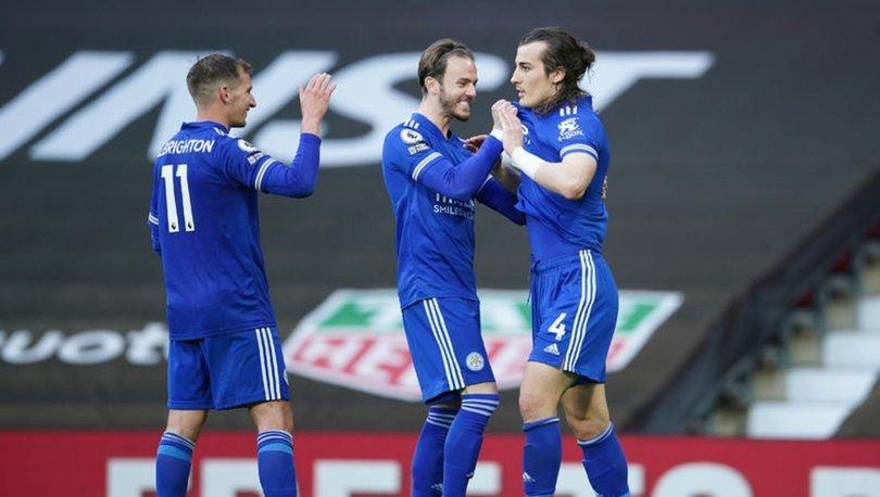Çağlar Söyüncü gol attı, Premier Lig'de Manchester City şampiyon oldu