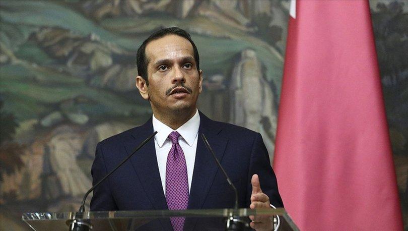 Katar Dışişleri Bakanı Al Sani, İsrail'e karşı 'Ortak Arap duruşu' çağrısı yaptı
