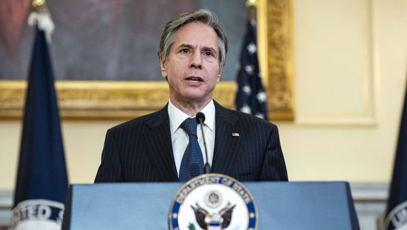 ABD Dışişleri Bakanı Blinken, İsrail ve Filistin'e