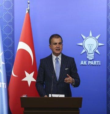 AK Parti Sözcüsü Çelik'ten 'işgal sözlüğü' paylaşımı