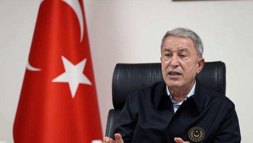 Milli Savunma Bakanı Akar'dan İsrail açıklaması