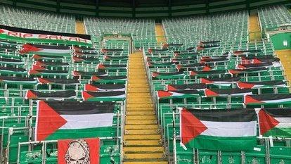 Celtic yönetimine Filistin tepkisi