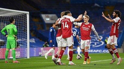 Chelsea'ye Arsenal şoku!