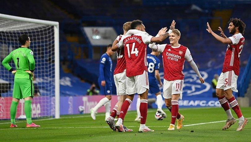 Chelsea: 0 - Arsenal: 1 MAÇ SONUCU
