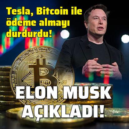 Elon Musk'tan flaş Bitcoin açıklaması!