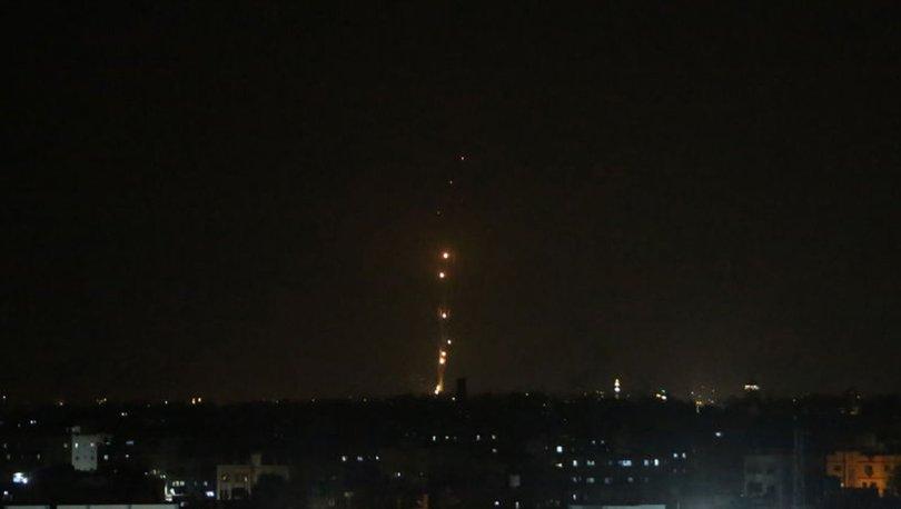 Gazze'den atılan roketler ilk kez İsrail'in kuzeyini hedef aldı, bölgede siren sesleri duyuldu