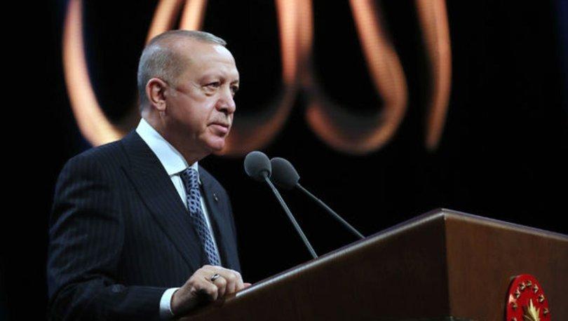 Son dakika: Cumhurbaşkanı Erdoğan'dan bayram tebriği