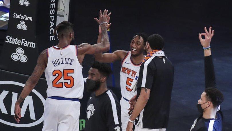 NBA'de Hawks 4, Knicks ise 8 yıl sonra play-off'a yükselmeyi garantiledi