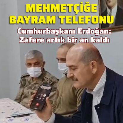 Cumhurbaşkanı Erdoğan'dan Mehmetçiğe bayram telefonu