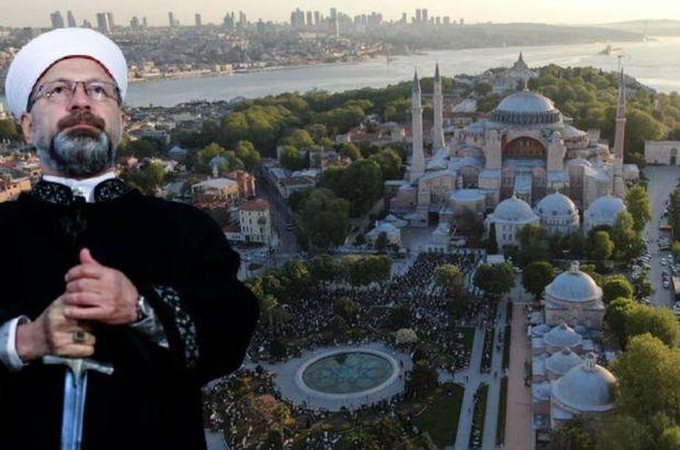 Ayasofya'da 87 yıl sonra ilk Ramazan Bayramı namazı