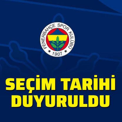 Fenerbahçe seçim tarihini duyurdu!