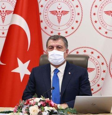 Sağlık Bakanı Fahrettin Koca, Twitter hesabından yaptığı açıklamada,