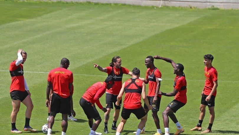 Göztepe, Beşiktaş maçının hazırlıklarına başladı