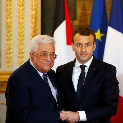 Fransa Cumhurbaşkanı Macron'dan Filistin liderine telefon