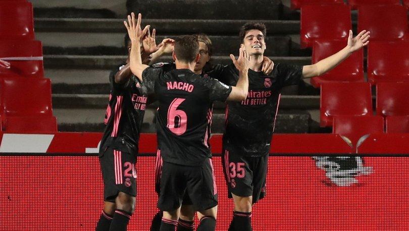 Granada: 1 - Real Madrid: 4 MAÇ SONUCU