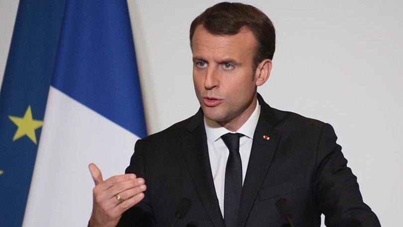 Fransa Cumhurbaşkanı Macron'dan Orta Doğu'da ateşkes çağrısı