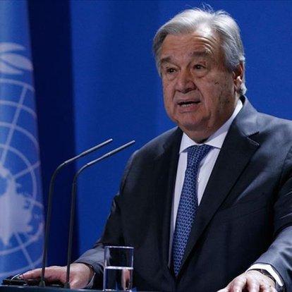 BM Genel Sekteri Guterres'ten Gazze çağrısı