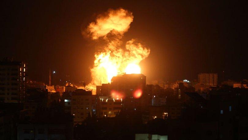 SON DAKİKA! İsrail ordusundan Gazze harekatı! Havadan ve denizden bomba!