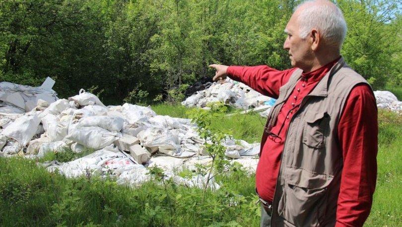 SON DAKİKA: Doğa harikasında akılalmaz katliam! Hafriyat çöplüğüne çevirdiler