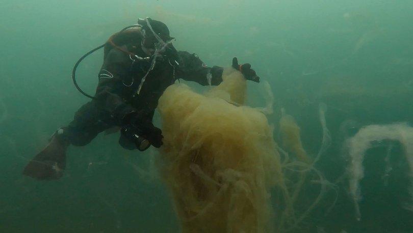 KÖRFEZİ KAPLADI! Son dakika: 'Deniz salyası' su altında görüntülendi - Haberler
