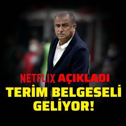 Netflix, Fatih Terim'i açıkladı!