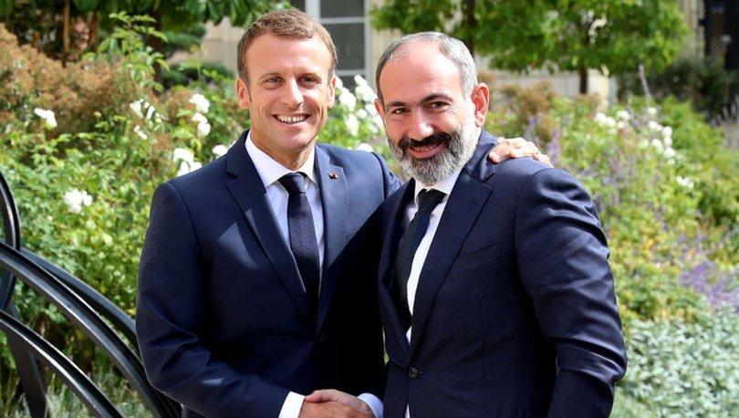 MACRON'DAN ERMENİSTAN'A DESTEK! Son dakika: Macron