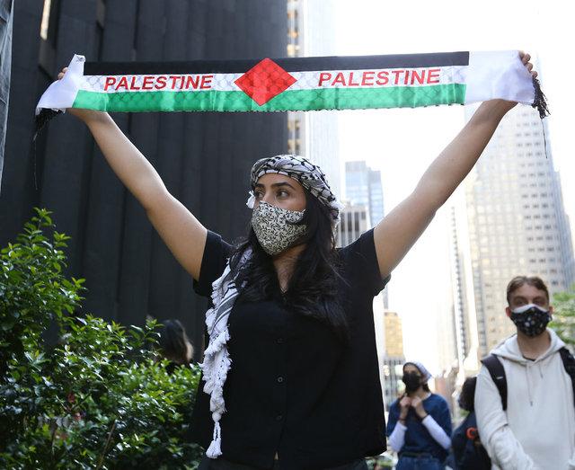 SON DAKİKA HABERLER! Dünyada İsrail'in Filistin'in saldırıları protesto edildi!