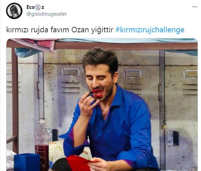 Sosyal medyada yeni akım: Kırmızı ruj challenge