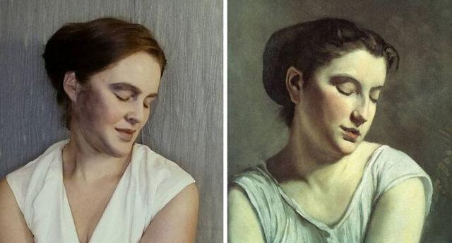 Rus kadın paylaştı, inanılmaz benzerlik! - Haberler