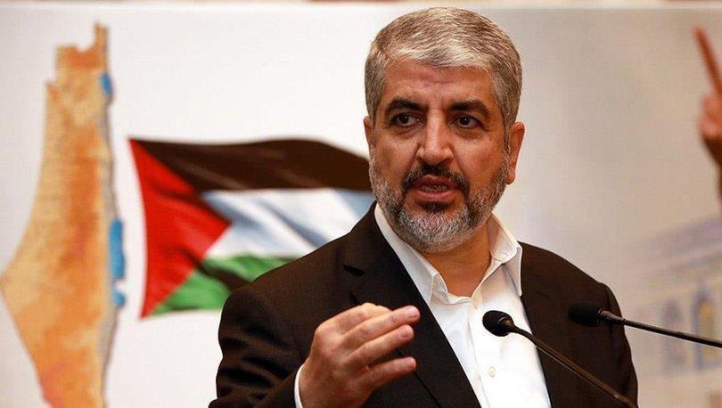 Eski Hamas lideri Meşal: Şartımız İsrail'in Mescid-i Aksa'dan çıkması